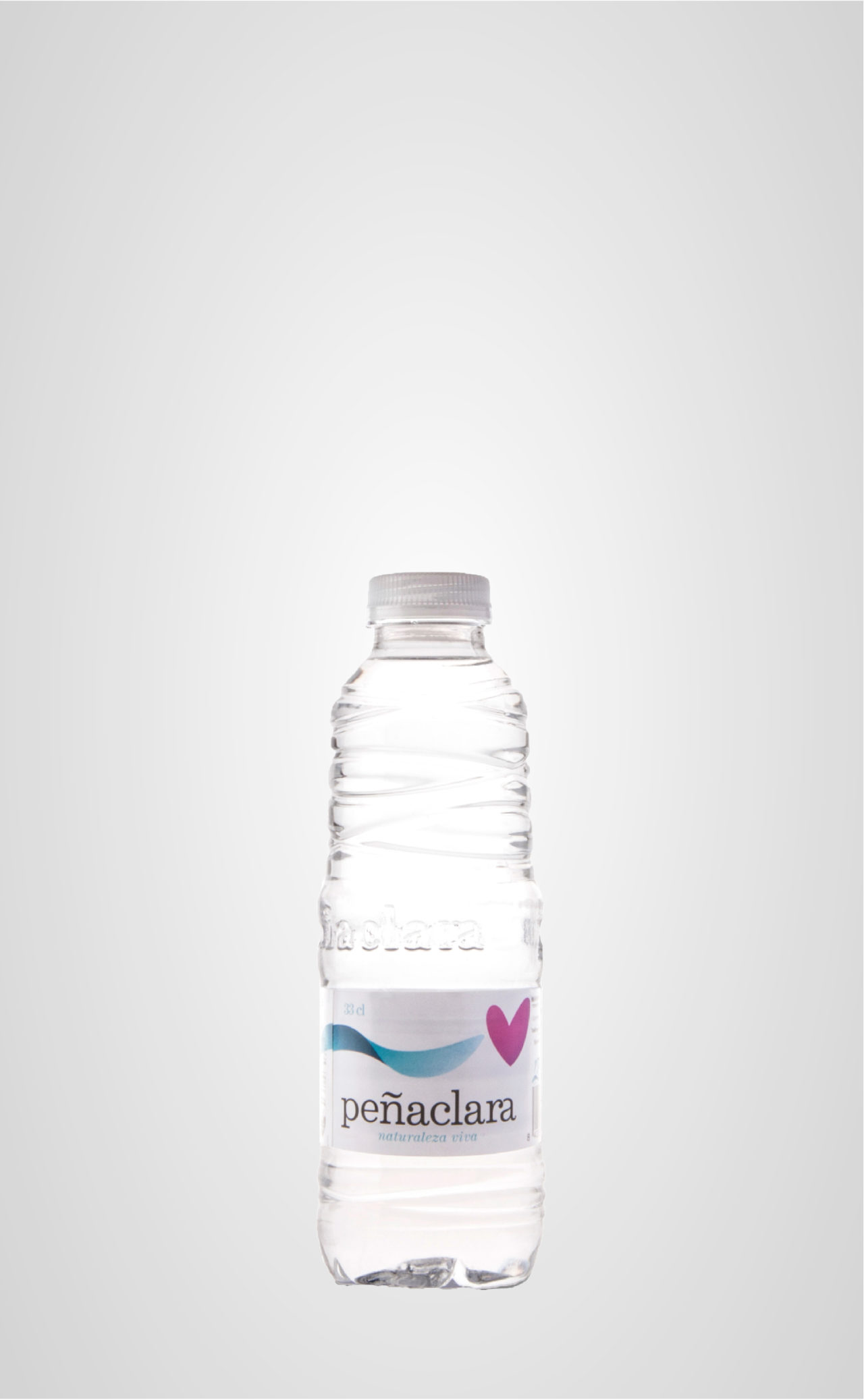 Botella 33cl corazón Peñaclara